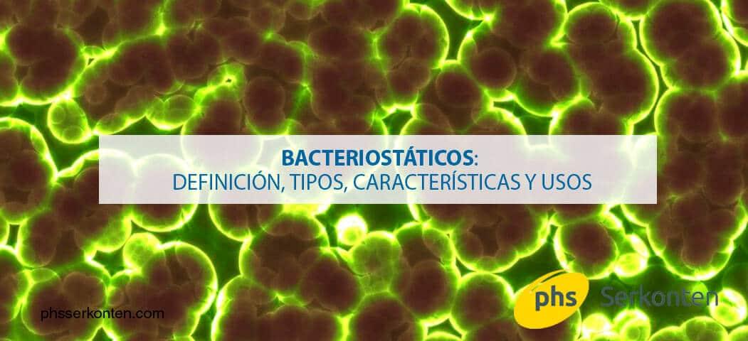 bacteriostaticos