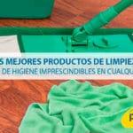 Los mejores productos de limpieza y artículos de higiene imprescindibles en cualquier empresa