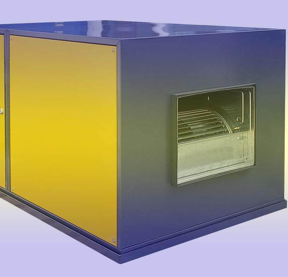 purificador de ozono industrial