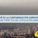 ¿Qué es la contaminación ambiental? Causas y efectos de la polución ambiental