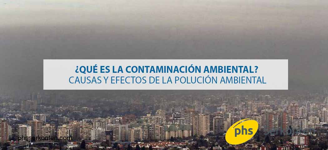 contaminación medio ambiental