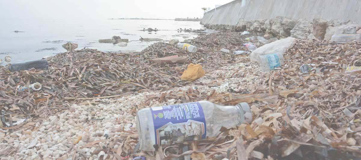 residuos que contaminan el entorno