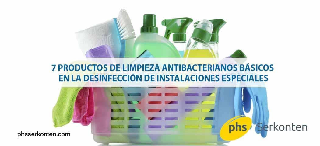 limpieza antibacteriana