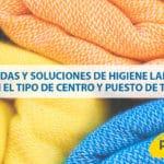 Medidas y soluciones de higiene laboral según el tipo de centro y puesto de trabajo