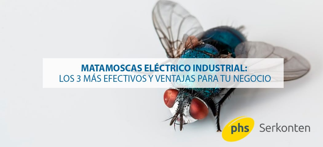 matamoscas eléctrico industrial