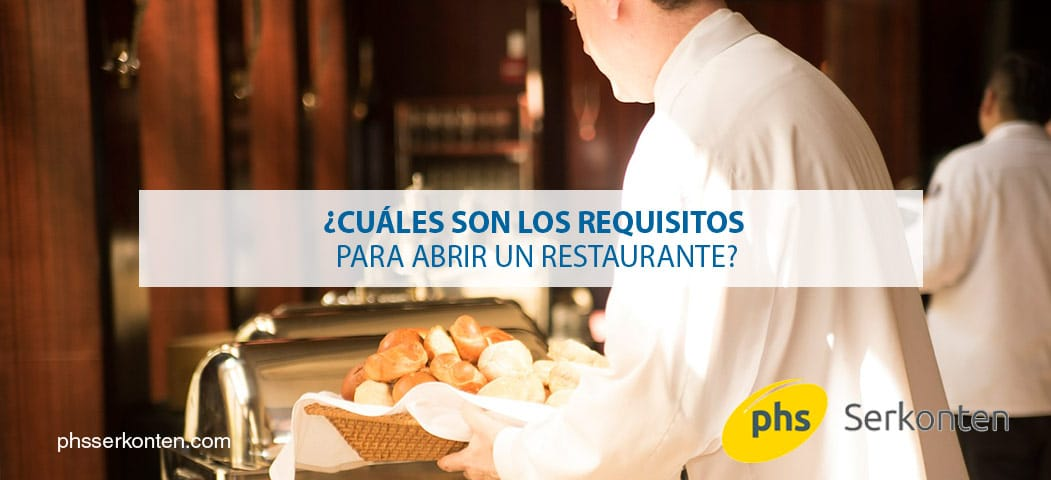 requisitos para abrir un restaurante