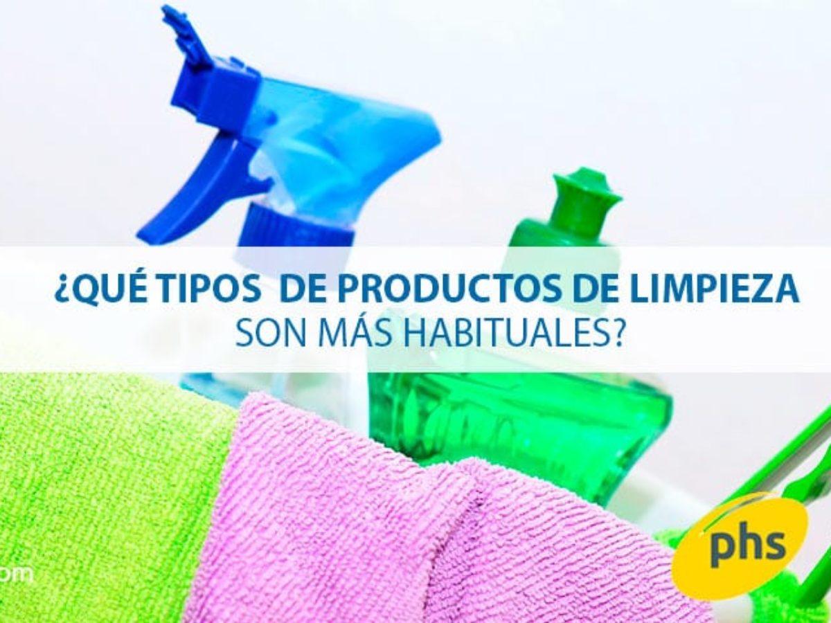 Qué Tipos De Productos De Limpieza Son Los Más Usados